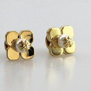 tory burch 18k earrings
